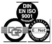 DQS DIN EN ISO 9001 zertifizierter Betrieb